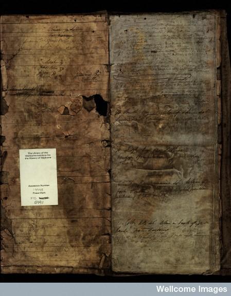 F0002914 Royal Navy Surgeons' Case Book