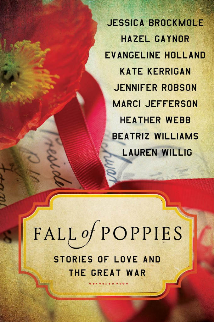 Fall of Poppies, the new novel by Lauren Willig